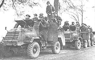 Chevrolet C15TA with Canadian infantry