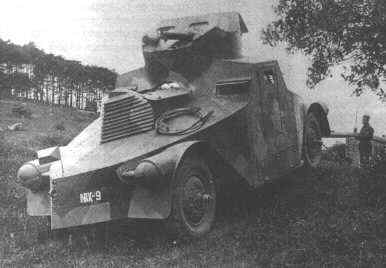 A good view of the very special appearence of the Škoda PA-I, which earned it the nickname Iron with the troops