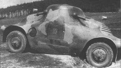 The Column of Škoda PA-II featured rounded armour, which made it appear much less bulky than the PA-I