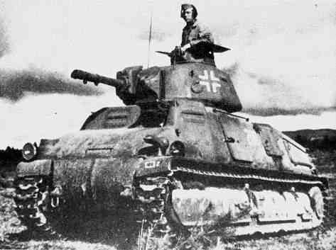 SOMUA S35 in German service