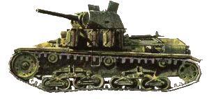 CARRO ARMATO M15/42 - Quartermaster Section