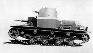 Profile view of a Type 92
