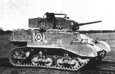 Right side of a Light Tank, M5A1